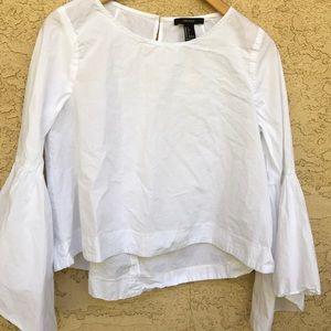 Bell bottom sleeve top